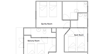 Chalet Calluna 2nd Floor Plan